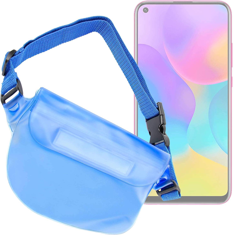 DURAGADGET Riñonera Azul Compatible con Smartphone Energizer Energy E241, Energizer Energy E241s, Honor 20S, Honor Play 3: Amazon.es: Electrónica