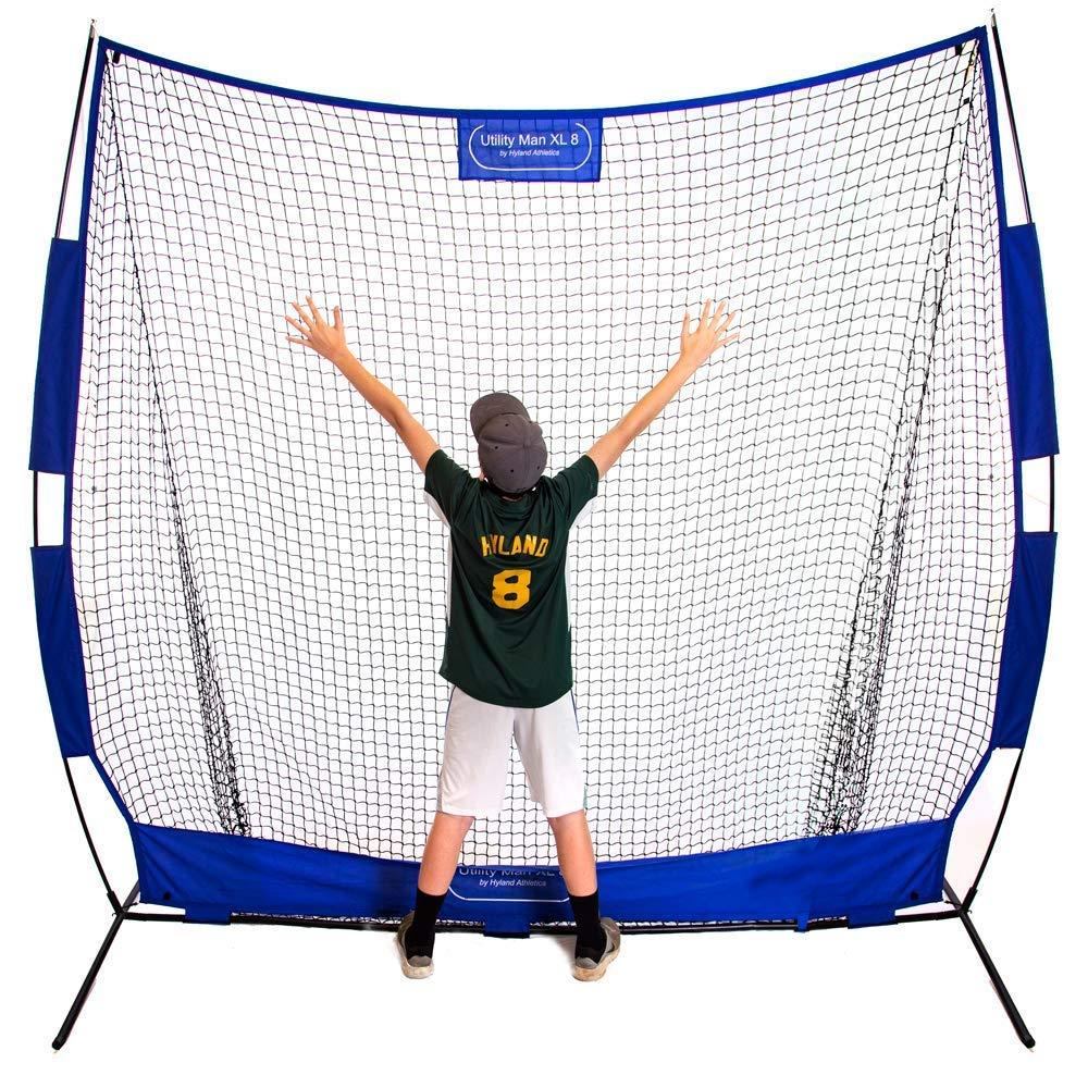 Utility Man XL8 Baseball/Softball 8' x 8' Practice Net by Utility Man