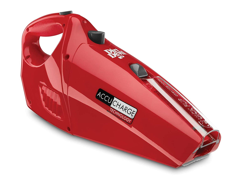 Dirt Devil Hand Vacuum Cleaner Accucharge 15.6 Volt Cordless Bagless Handheld Vacuum