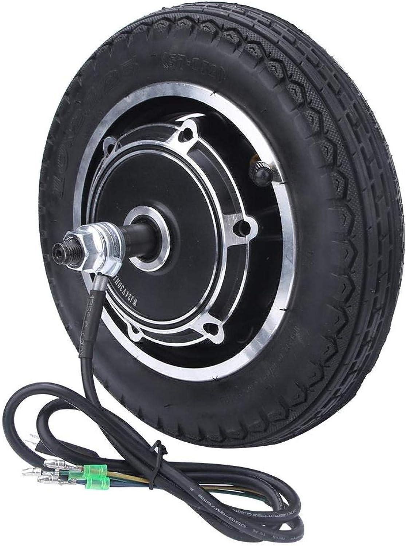 DAUERHAFT Freno Tipo Tambor 24/36/48 V Motor de Cubo de Scooter Motor de neumático de Scooter Motor de Cubo de Rueda Motor sin escobillas, para Bicicleta eléctrica