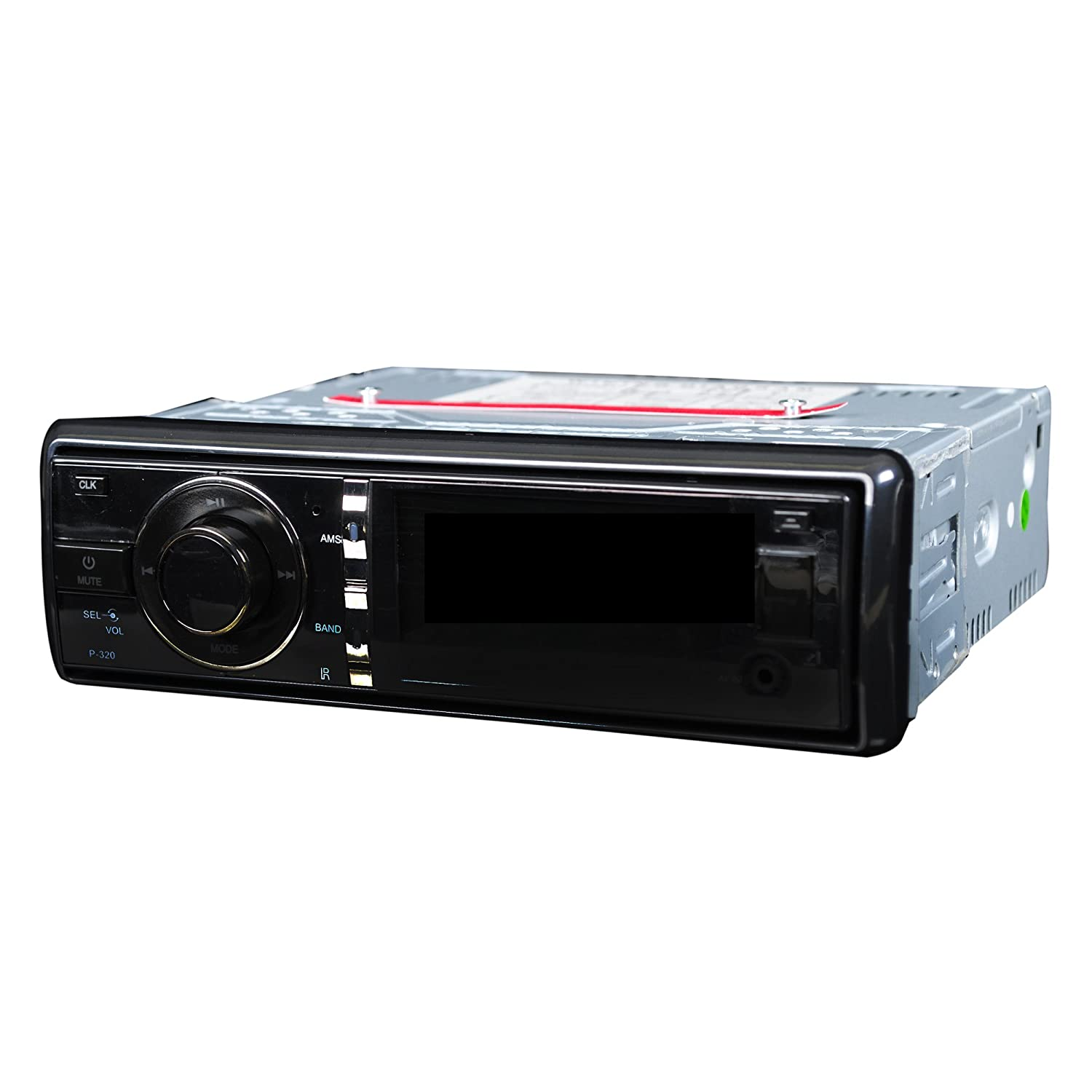 1 DIN IN Autoradio DVD VCD SINGLE STEREO MP3 MP4 SD AUX: Amazon.de ...