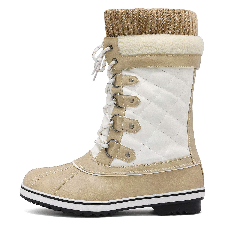 8a55ae9991e DREAM PAIRS Women's Mid-Calf Winter Snow Boots