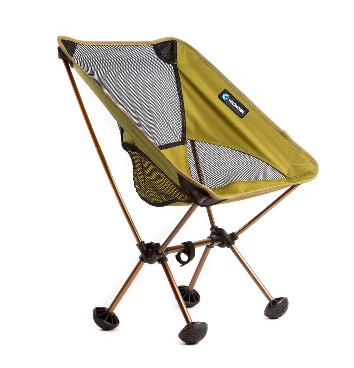 WildHorn Outfitters Terralite Portable Camp/Beach Chair (Supports 350 lbs) with TerraGrip Feet (並行輸入品) B07D7GKSPX One Size|Olive Olive One Size