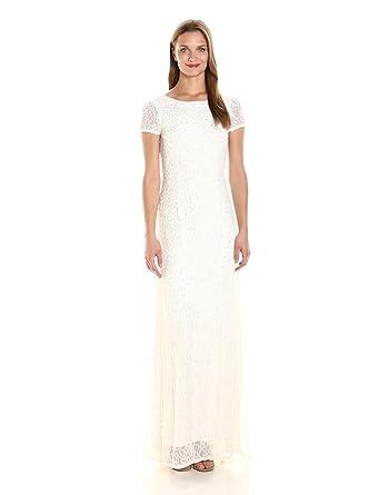 Adrianna papell dress white