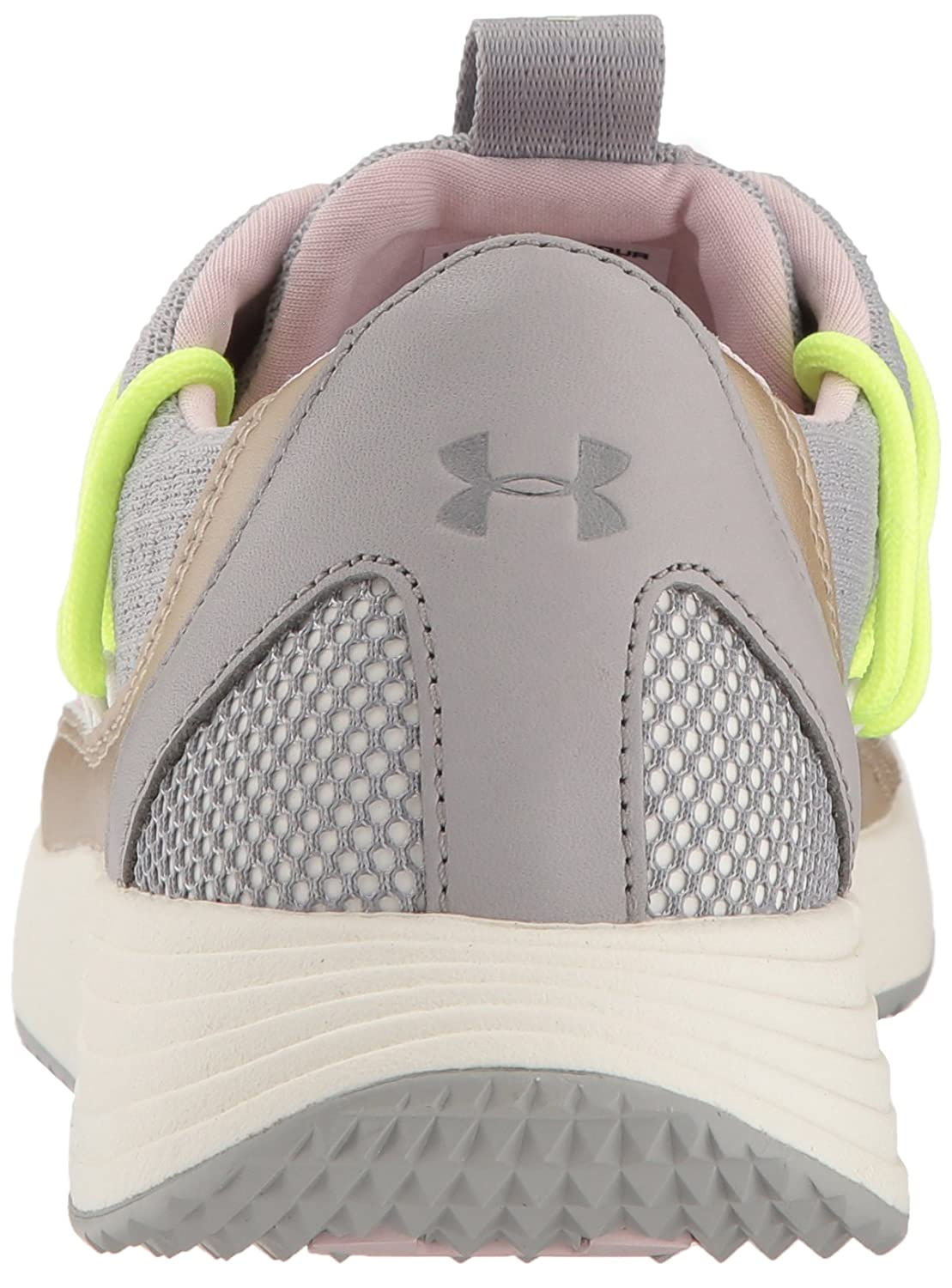 Under Armour Women's Breathe Lace Sneaker B071S8CTVT 7.5 M US|Tin (102)/Ivory