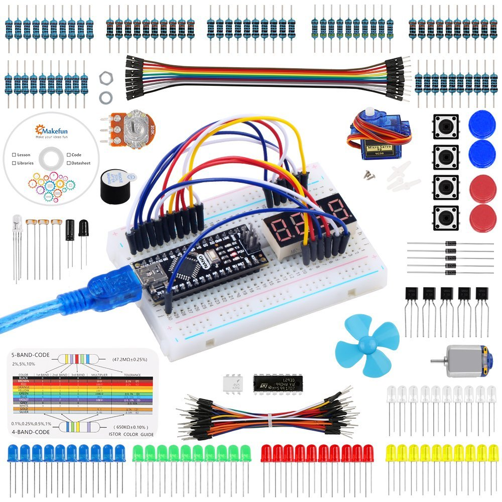 Emakefun for Arduino Nano Project Super Starter Kit with Detailed Tutorial for UNO R3 Mega 2560 by Emakefun