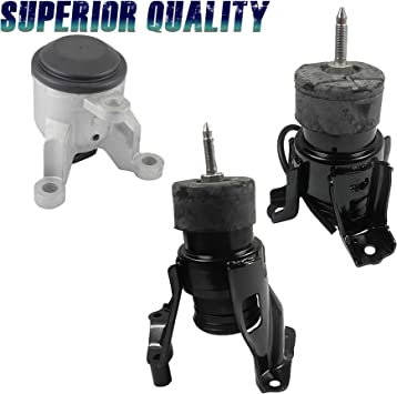 2 PCS FRONT MOTOR /& TRANS MOUNT FOR 2011-2014 Toyota Sienna 3.5L