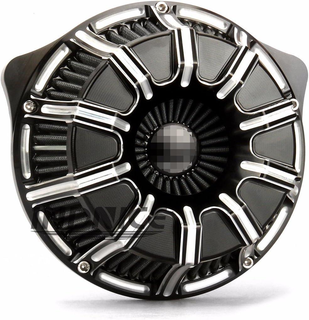 Filtres /à air /à bord profond pour filtres /à air Harley 2018-19 filtres /à air FLTRX FLHR FLHX FLHTCU entr/ées dair 17-19 NOIR
