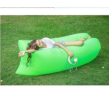 Simba Sofá Hinchable Chaise Longue Impermeable sofá de Aire portátil inflación rápido colchón de Camping para