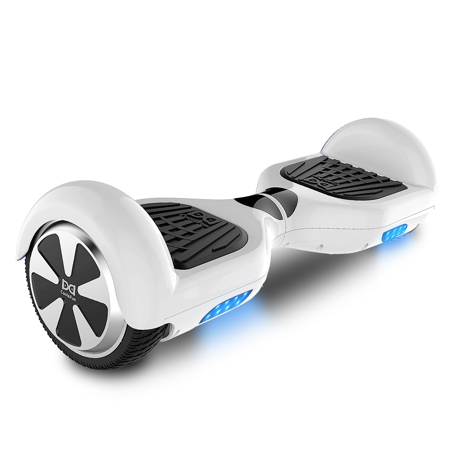 Cool&Fun Two Wheel Self Balance Scooter LED Hoverboard