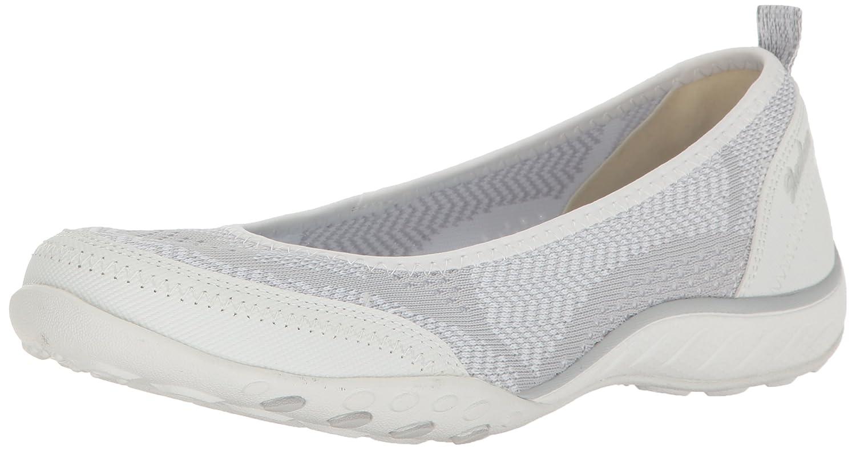 blanc lumière gris 39 EU Skechers Breathe Easy Symphony Le glisseHommest des femmes sur des chaussures Memory Foam