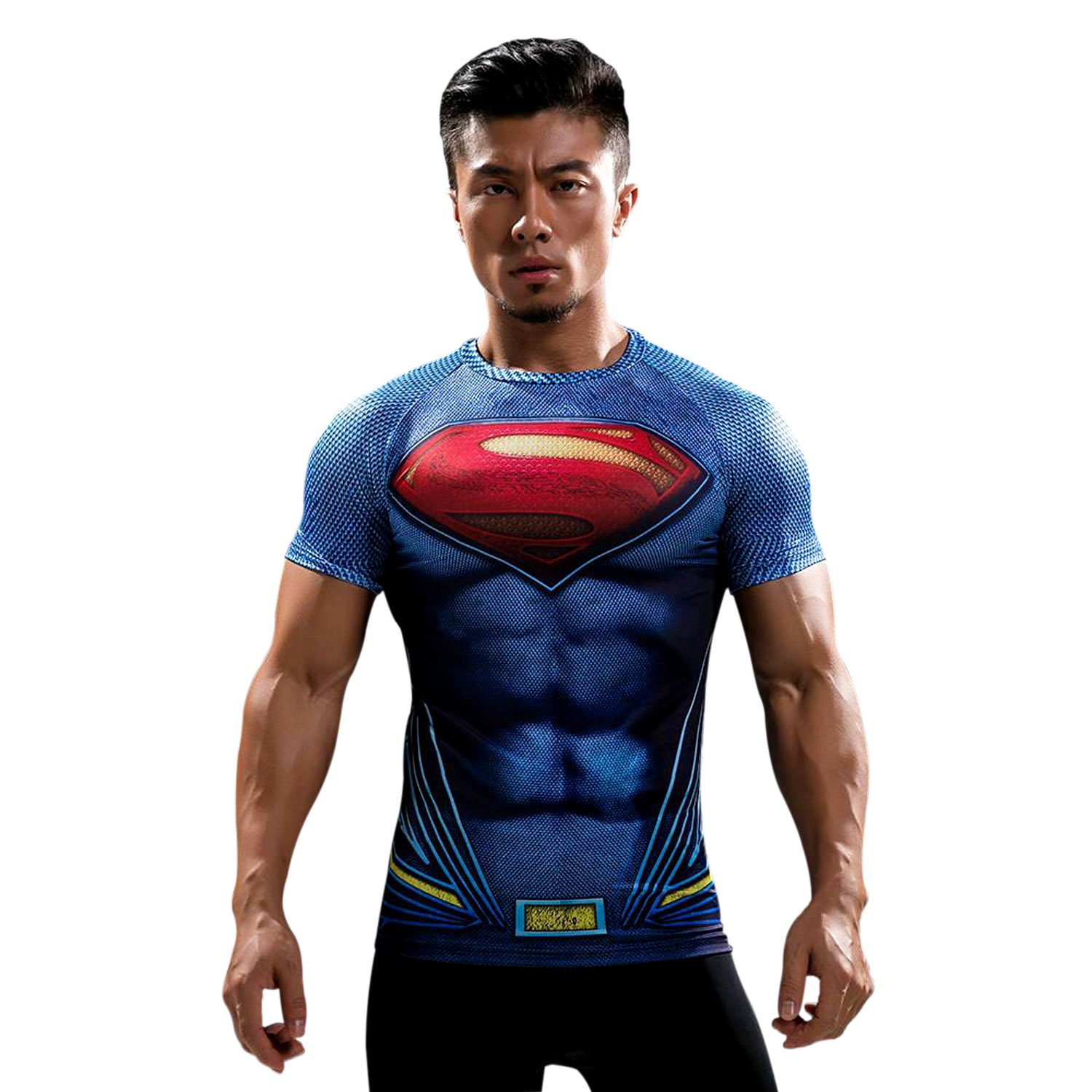a87afa19 Treemoda Men's Polyester T-shirt for Gym/Yoga/Bikram/Crossfit/Athletics/ Fitness/Workout (Multicolour, Medium): Amazon.in: Clothing & Accessories