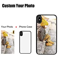 5PCS Custom Phone Cases Sublimation Blanks iPhone Case Covers Anti Scratch Heat Transfer iPhone X Cases 5.8 inch