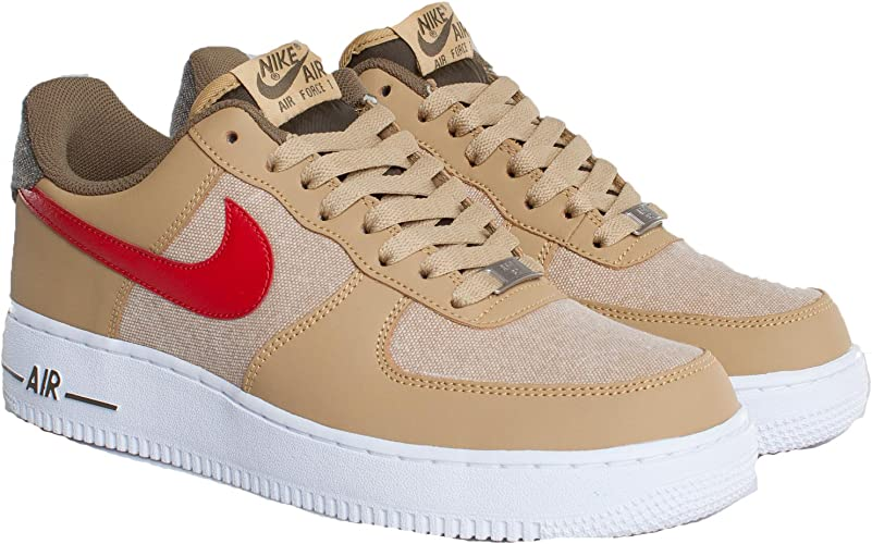 | Nike Air Force 1, Jersey GoldSport Red White
