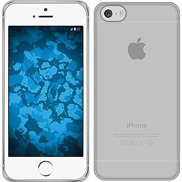 PhoneNatic Funda de Silicona Compatible con Apple iPhone 6s / 6 - Transparente Crystal Clear - Cover Cubierta + Protector de Pantalla