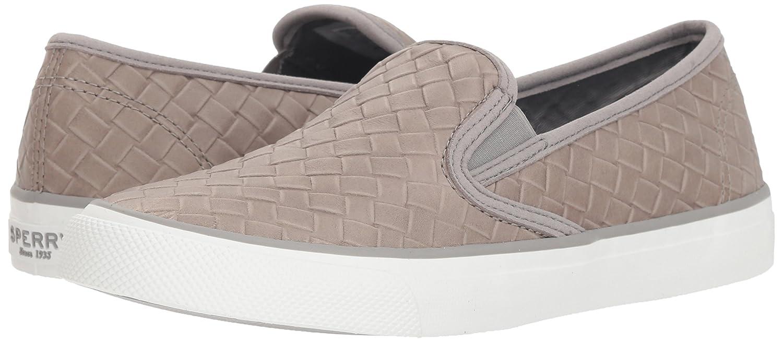 Sperry Top-Sider Women's Seaside Emboss Weave Sneaker B078SGYYNW 11 M US|Grey