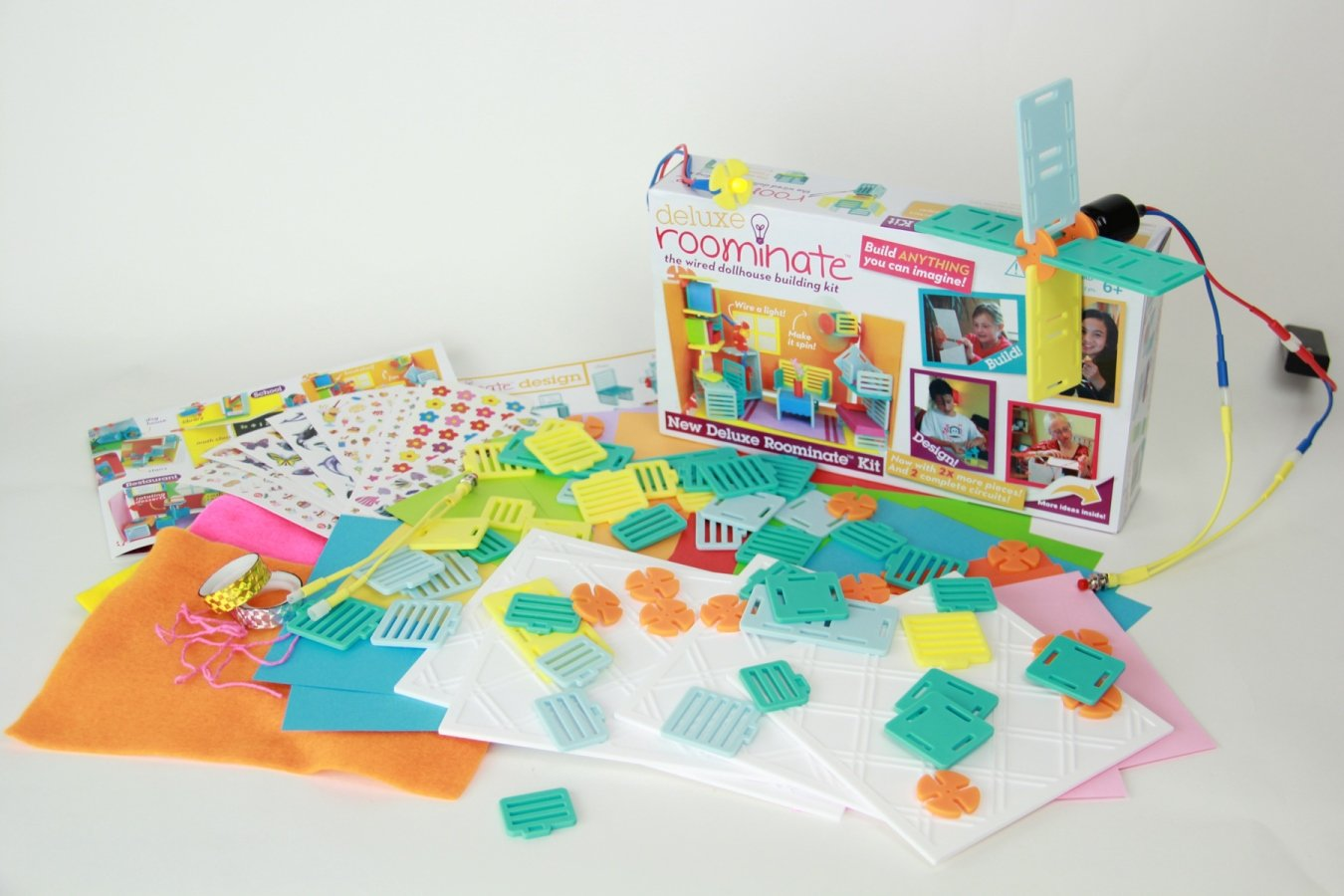 Toys For Girls Product : Amazon deluxe roominate toys games