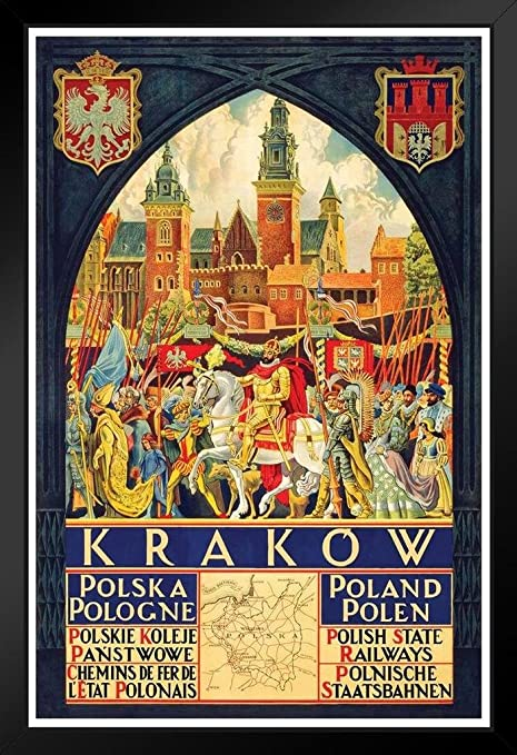 Poland Vintage Travel Posters Vintage Travel Set of 3 Polish travel ads