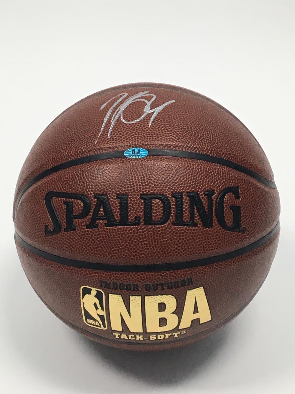 Patrick Patterson Autographed Spalding NBA I/O Basketball - Houston Rockets A.J. Sports World