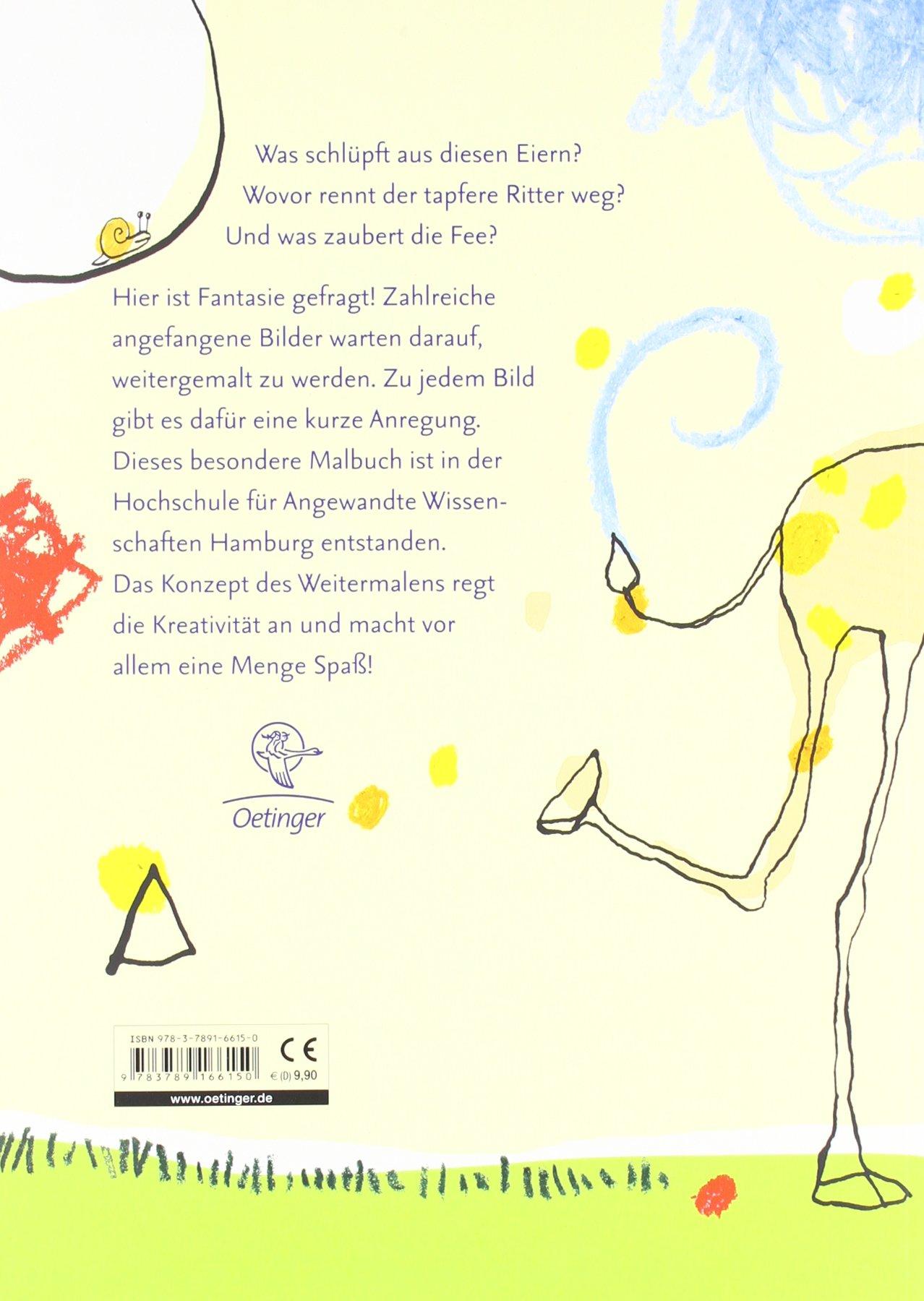 Krickel-Krakel-Buch. Bilder zum Weitermalen: Amazon.de: Die ...