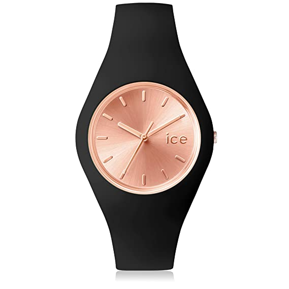 Ice-Watch - Ice Chic Black Rose-Gold - Reloj Nero para Mujer con