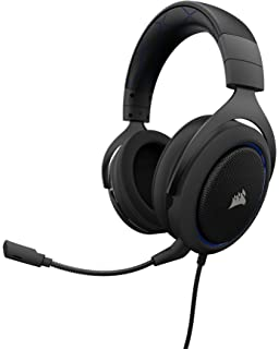0212fe1b708 Corsair CA-9011170-EU HS50 Stereo Gaming Headset (PC, Xbox One, PS4,  Nintendo Switch…