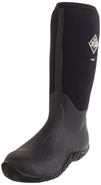 The Original MuckBoots Adult Tack Classic Hi-Cut Boot,Black,5 M US