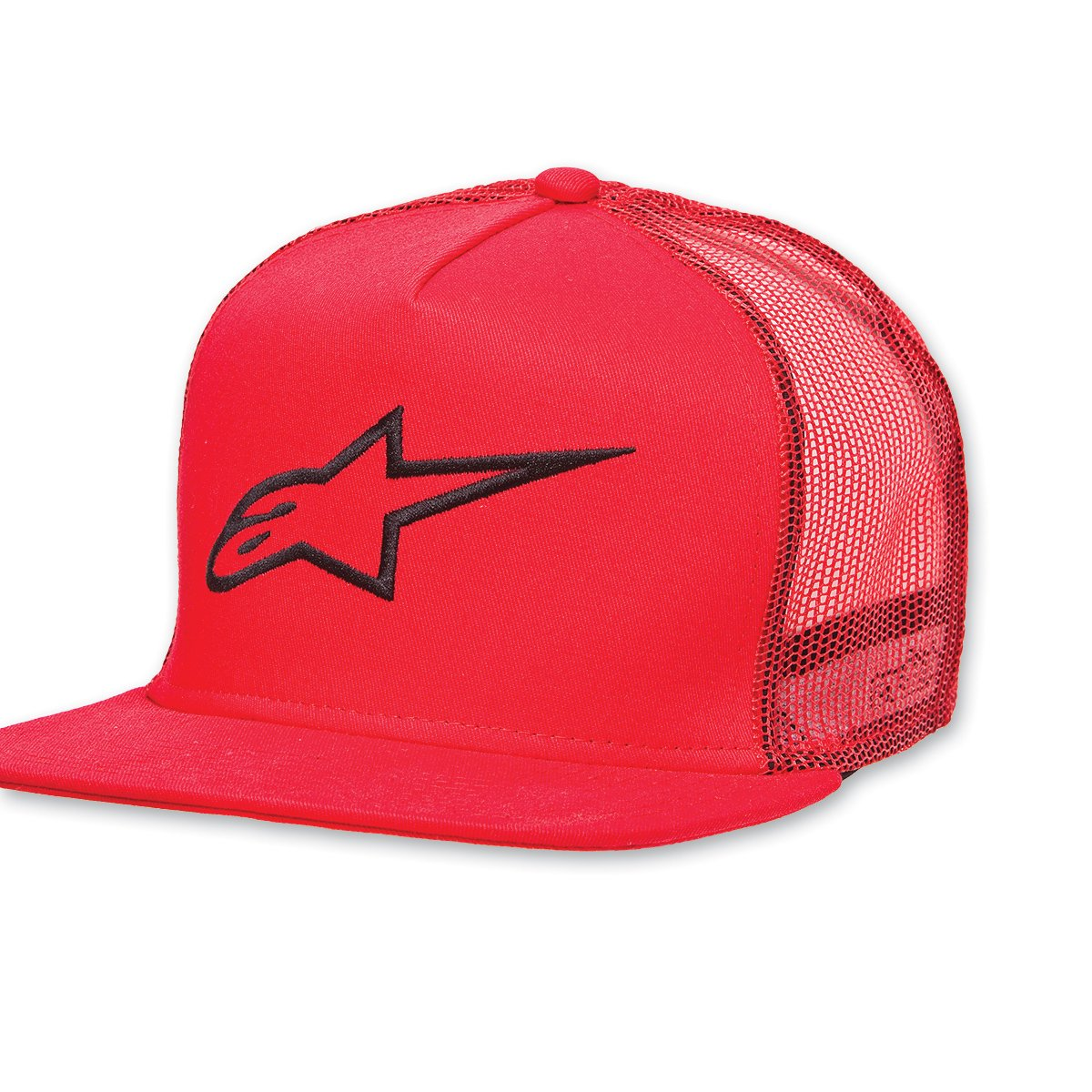 One Size Fits Most Alpinestars Corp Trucker Red Hat