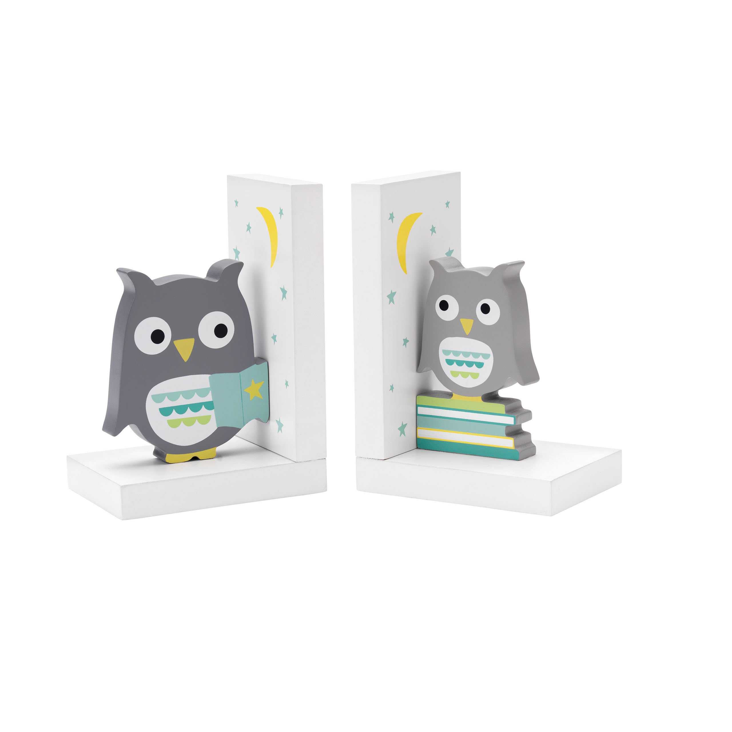 Reed & Barton 5946L Hazlenut Hollow Owl Bookends