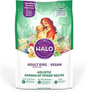 Halo Vegan Dry Dog Food, Adult Garden of Vegan Recipe