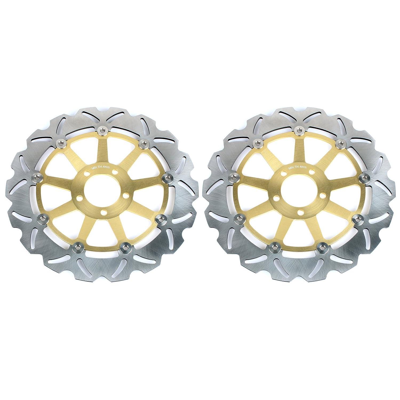 Tarazon Gold Paar Bremsscheiben vorne f/ür Kawasaki ZX12R ZX-12R 1200 Ninja 2000 2001 2002 2003