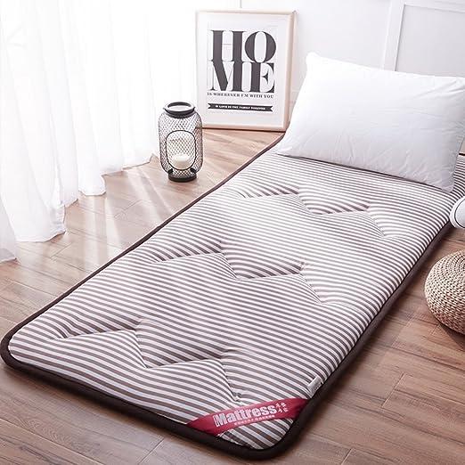 Adult Sleeping Pad Floor Mat Folding Thick Memory Foam Nap Spare Bed Mattress