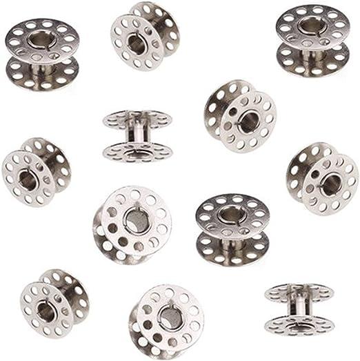 Juego de bobinas de metal para máquina de coser y accesorios de ...