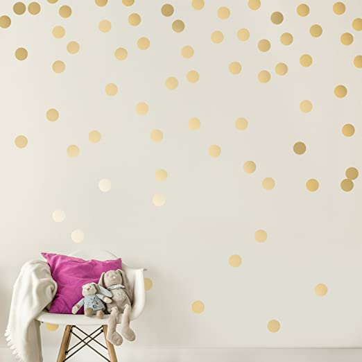 Decals for the Wall Easy Peel + Stick Wall Decal Dots