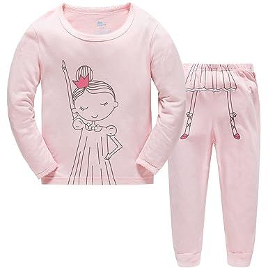 f6726652f3392 Hugbug Pyjama Fille Manches Longues Coton Imprimé Danse 7 ans ...