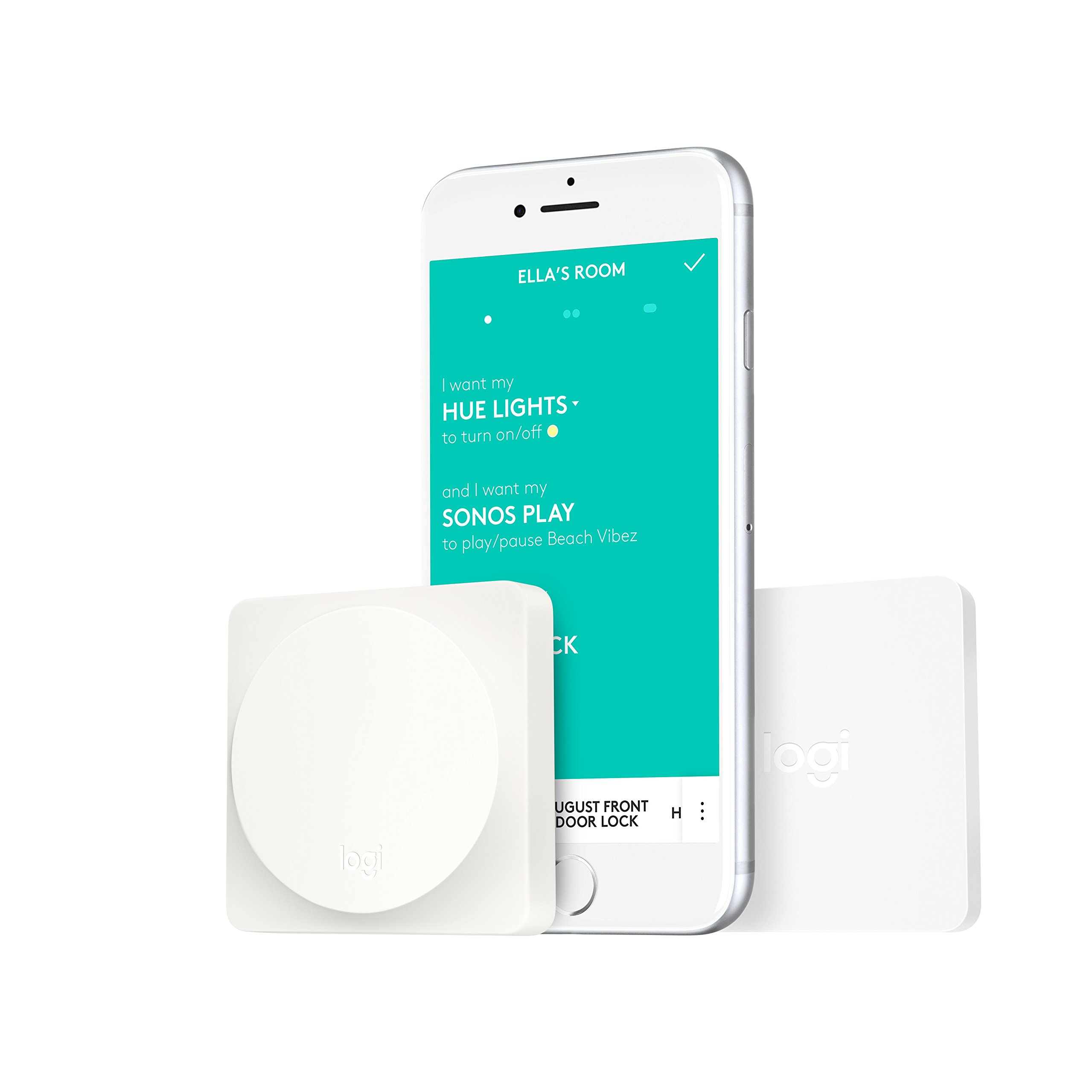 Logitech POP Smart Button Kit for One-Touch Control of Smart Home Devices in Any Room