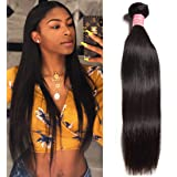 Ali Julia Hair 10A Brazilian Straight Hair One Bundle Deal Unprocessed 100% Virgin Human Weave Hair Extensions Natural Color