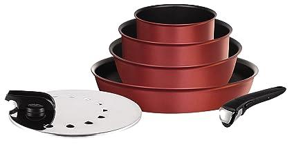 Tefal L6599402 Ingenio 5 Performance - Juego de sartenes y cacerolas, 6 Piezas, aptas
