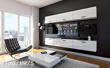 Wand Mobel Wohnzimmer ~ Future wohnwand anbauwand wand schrank tv schrank möbel