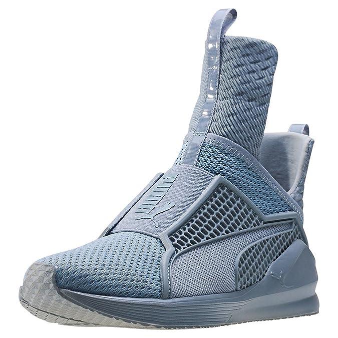 Puma Shoes Fenty x Rihanna Trainer Grey Womens: Amazon.es: Zapatos y complementos