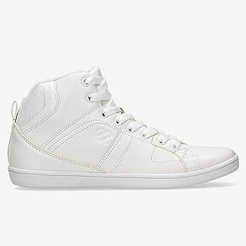 Zapatillas Bota Blancas Silver (Talla: 38): Amazon.es: Deportes y aire libre