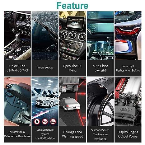 VXDIAG C6 Multidiag Herramienta de Diagnóstico XENTRY Diagnosis VCI para Mercedes para Benz Cars Trucks MB SD C5: Amazon.es: Coche y moto