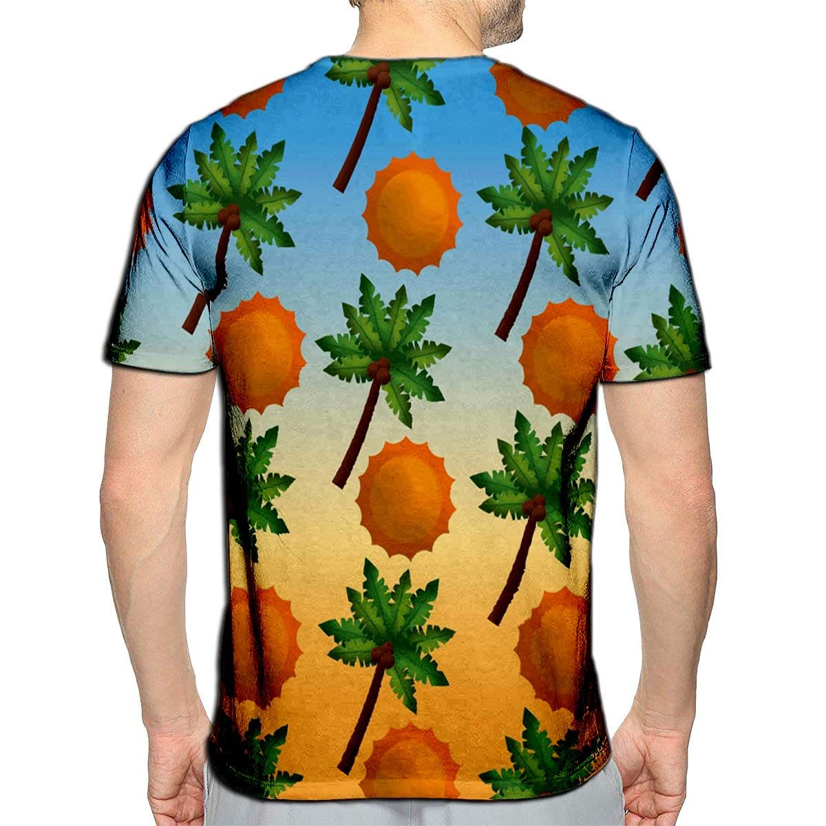 3D Printed T-Shirts Papaya Cut Painted with Watercolor Exotic Fruit Benefits and Vitami Short Sleeve Tops Tees