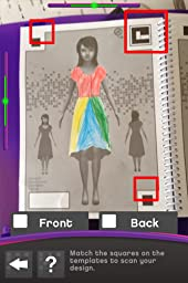 Crayola Fashion Show App cgi ish fashion show using