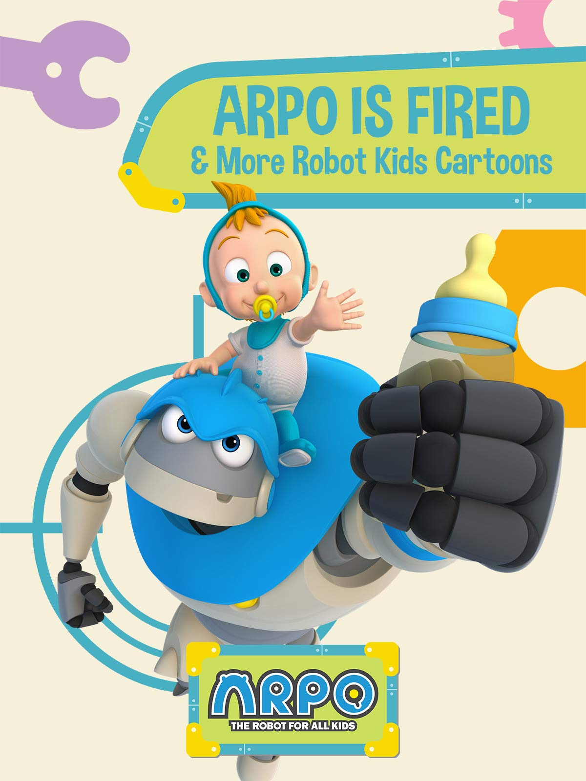 Arpo the Robot for All Kids  - Arpo is Fired & More Robot Kids Cartoons on Amazon Prime Video UK