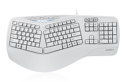 13 opinioni per Perixx PERIBOARD-512W, Tastiera ergonomica- USB- con cavo- Natural Ergonomic