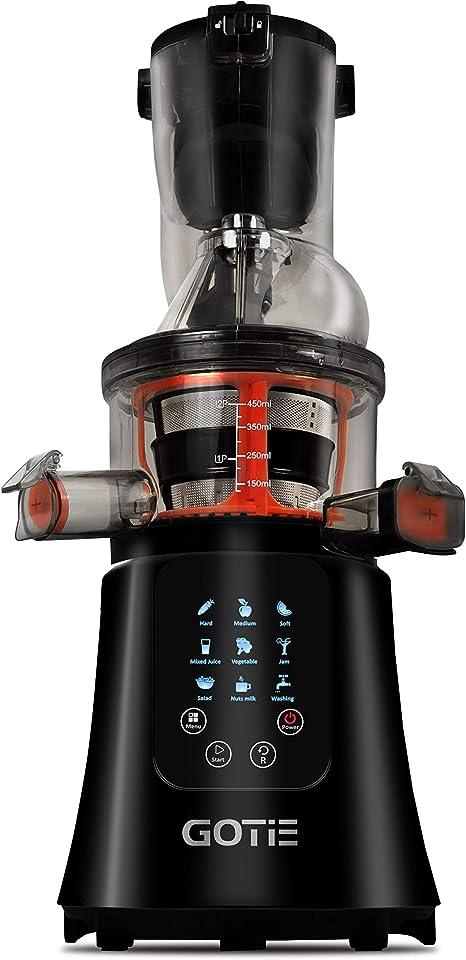 Gotie GSJ-610 Licuadora de extracción Lenta, 200 W, 2 litros, 20 ...