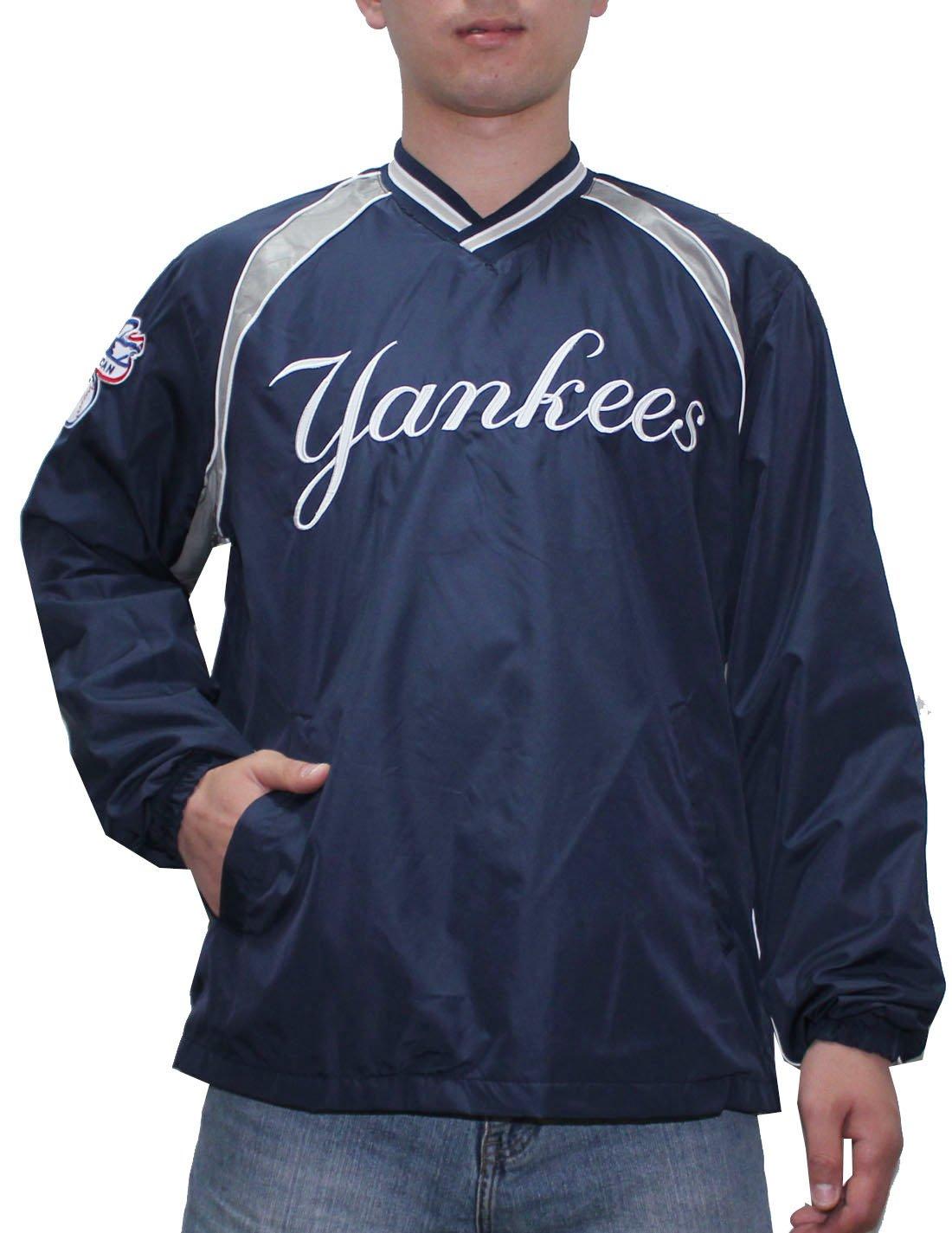 Para hombre Athletic cortavientos chaqueta con forro - NY ...