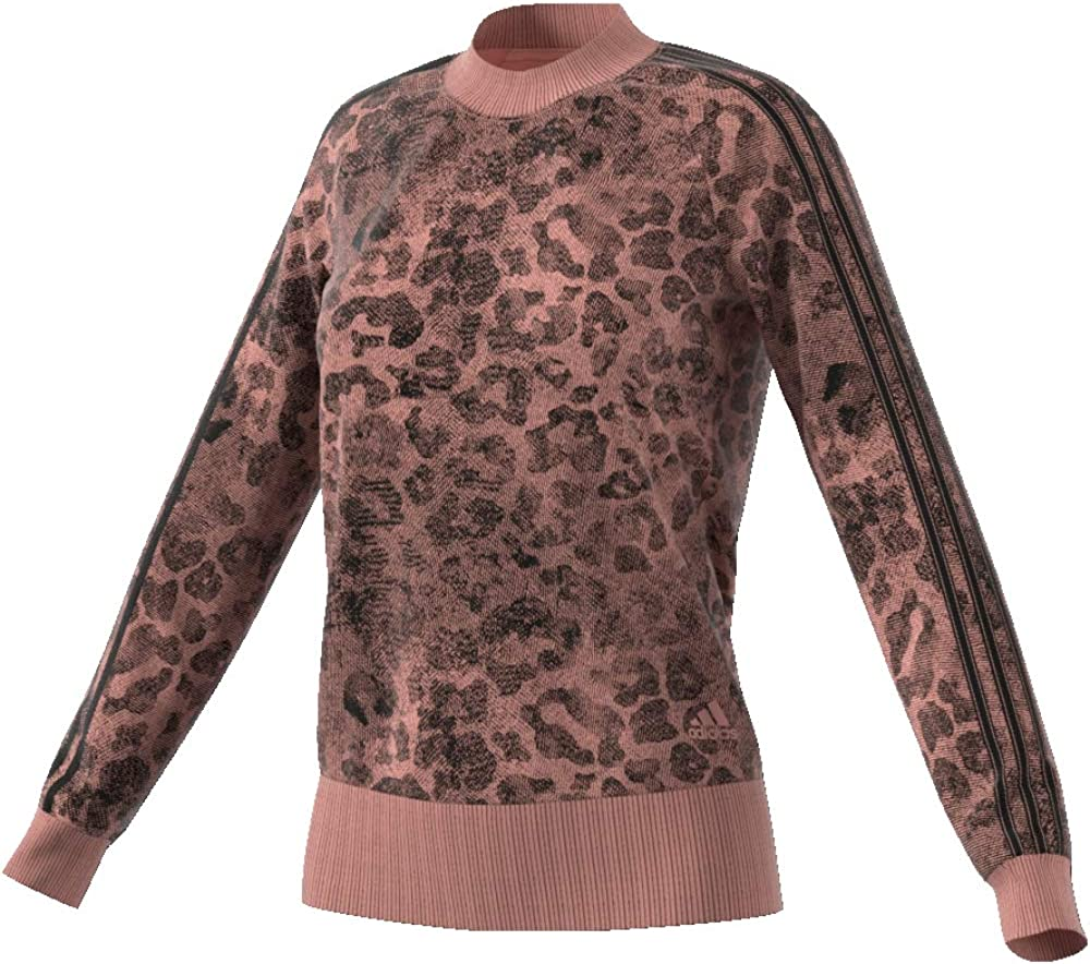 adidas Damen Essentials Allover Print Sweatshirt