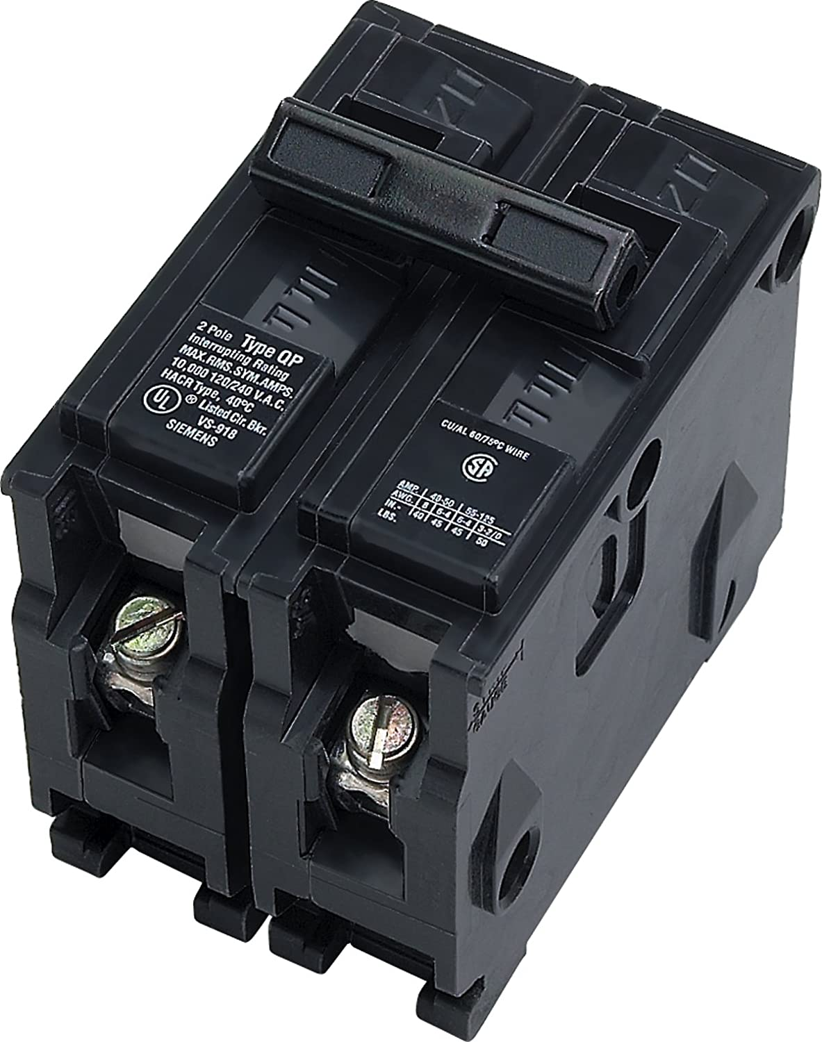 Q280 80-Amp Double Pole Type QP Circuit Breaker